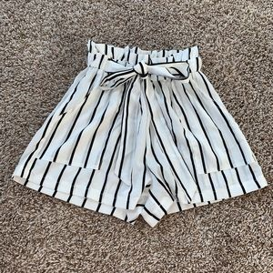 Striped Shorts NEVER WORN
